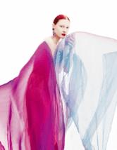Dasha Gold, Dani Witt and Lera Tribel by Eric Madigan Heck for Harper's Bazaar UK August 2015