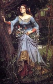 Blue Ophelia by John William Waterhouse