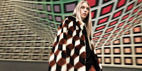 Graphic impact Harper's Bazaar