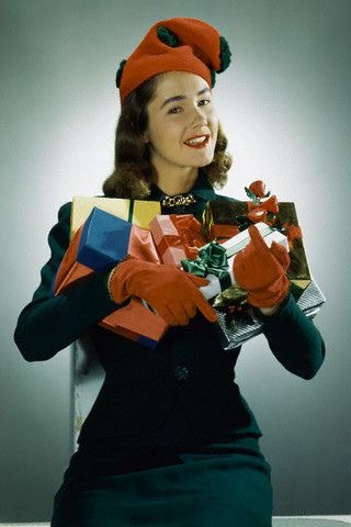 Christmas in 1940s