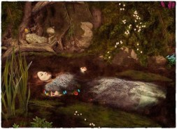 Lizzie Siddal painting