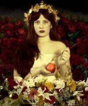 "Emine Cylan. Inspired by Rossetti's ""Venus Verticordia."""
