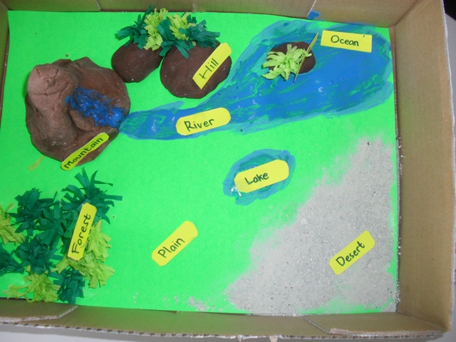 Land Formations and Water Formations Diorama (5/5)