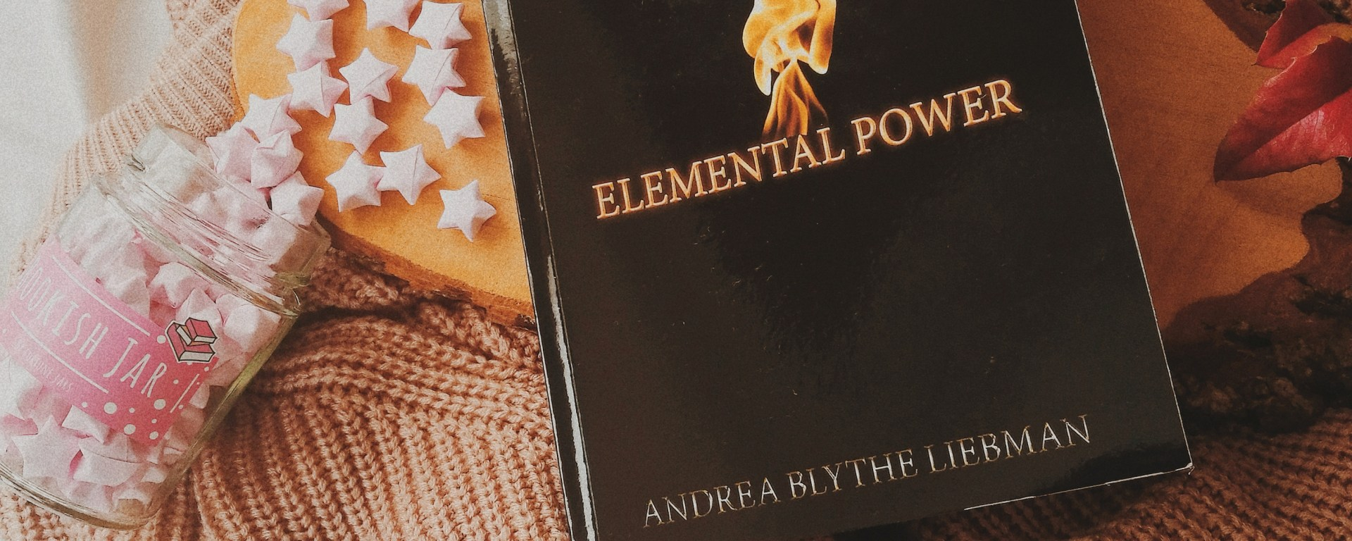 Elemental power featured on an open page book. A review on the sequel of young power by missmaddychats