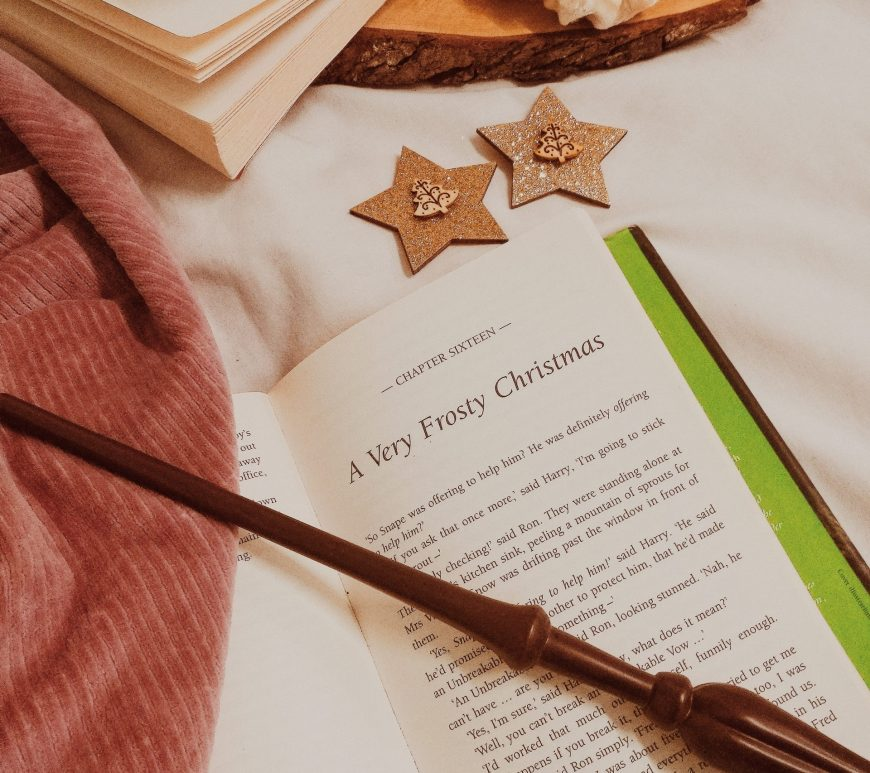 chatty ramblings: the subtle art of being grateful this December, bookstagram a frosty christmas morning