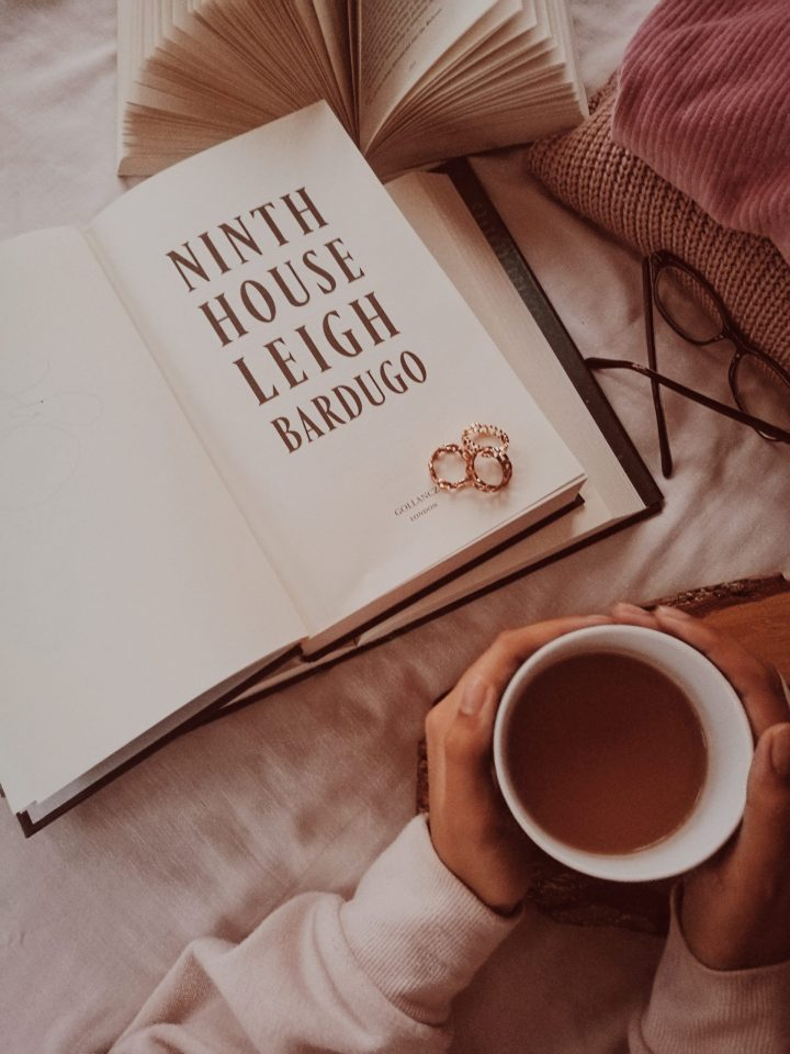 Ninth House by Leigh Bardugo book review, book blog, bookstagram