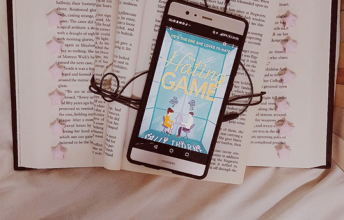 the hating game book review, romance reads, contemporary book blogger goodreads