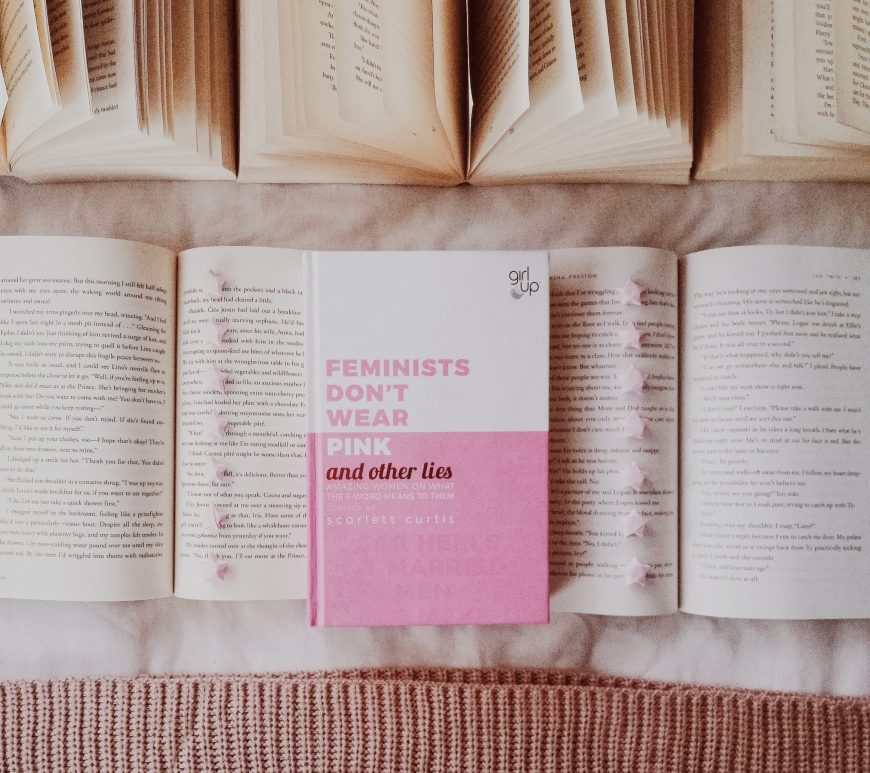 inspiring authors and their books, international womens day, book blogger, bookstagram,goodreads, feminists don't wear pink and other lies