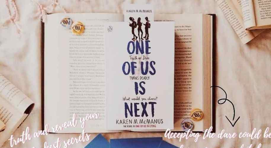 one of us is lying, one of us is next, thrillers, karen m mcmanus, book review, book bloggers, goodreads, bookstagram, book twitter