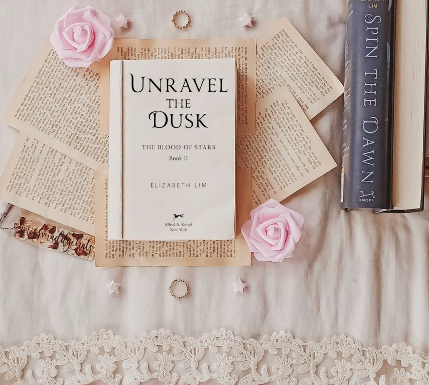 unravel the dusk, spin the dawn,, diverse books by asian authors, asian authors, ya fantasy, new release books, goodreads, book blogger, bookstagrammer, netgalley