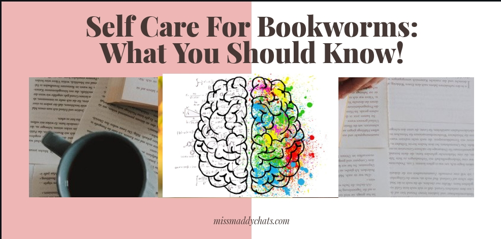 Selfcare for bookworms, world mental health day, reading, booklovers, movie to book adaptations, bookstagram, twitter, book blog