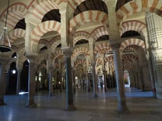 Mezquita, Cordoba (older section)