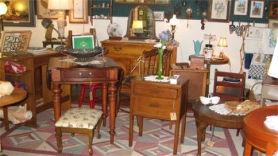 Vintage Furniture - End Tables, Stools, Buffets, and Knick Knacks