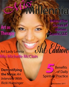 Miss Millennia Magazine November 2011 Cover