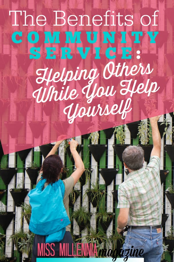 there are actually many benefits to doing community service that you might not realize that you can use to your advantage.