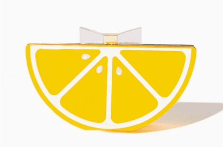 lemon purse yellow fall fashion