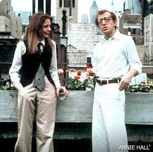 annie hall scene from woody allen movie