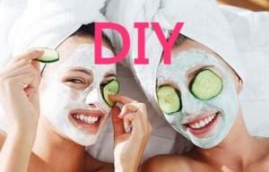 DIY Facial Masks, girls with facial masks
