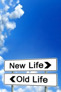 road signs, new life, old life, new life sign, old life sign