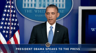 Obama addresses the Zimmerman verdict