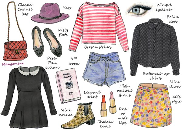 How to Dress Like Alexa Chung by Cindy Mangomini