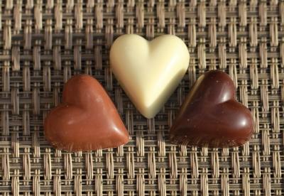 Heart Chocolates