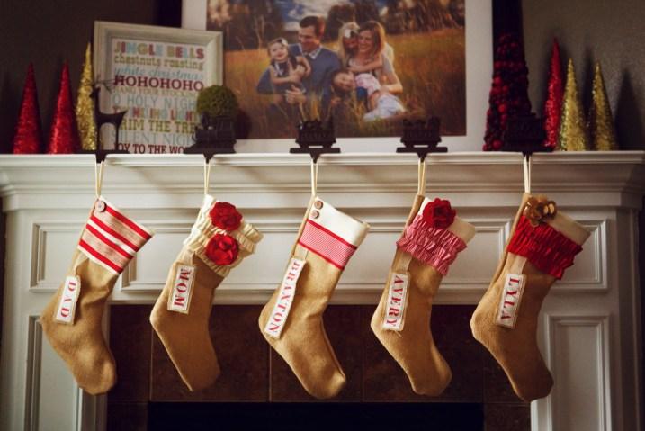 Pink Slip Inspiration Stockings