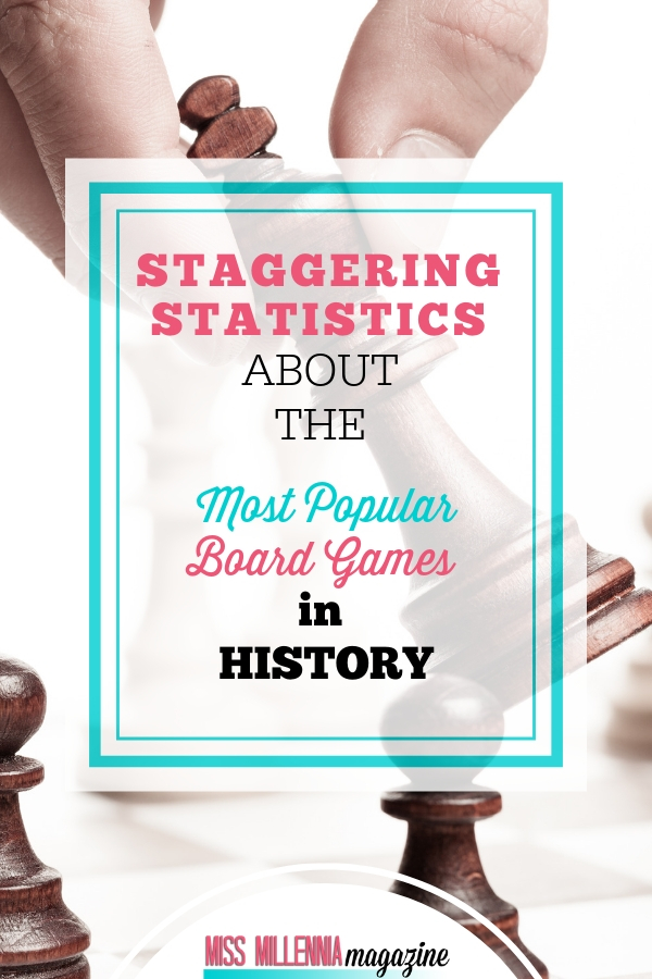 Staggering Statistics about the Most Popular Board Games in History