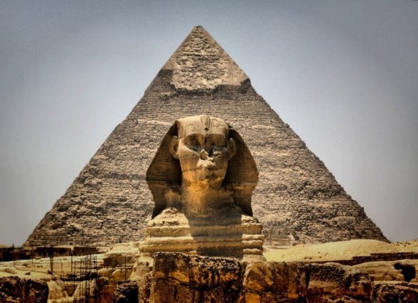 The Great Pyramind of Giza and Sphinx