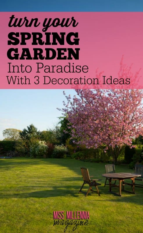 Spring is just around the corner, and you'll be needing some new ideas for your spring garden. Take a look at what we've come up with!