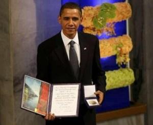 Obama-Nobel Peace Prize