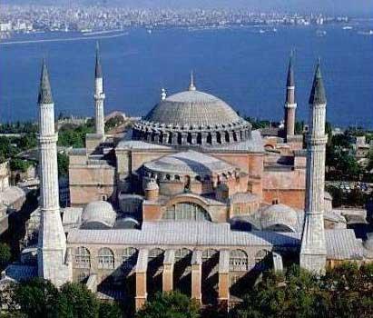 religious art Hagia Sophia