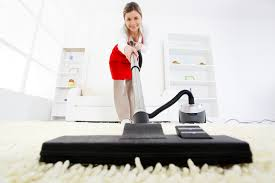 female carpet cleaning