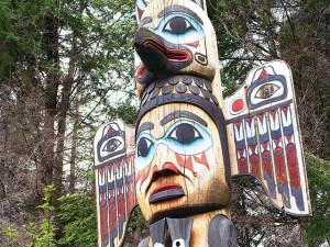 Totem Bight State Park, alaska, travel