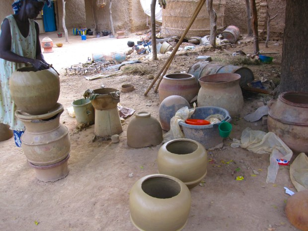 Making the Clay Pots