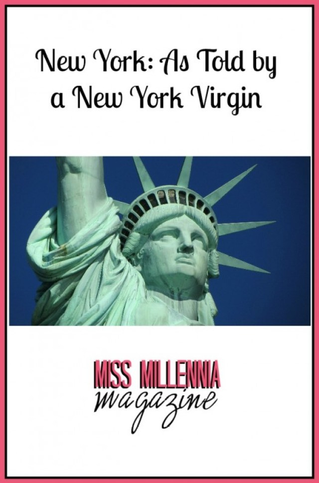 New York As Told by a New York Virgin