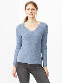 Heathered V-neck Sweater from Gap for fall