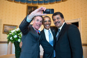 Even the president takes selfies!