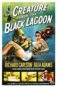 creature from the black lagoon halloween movie poster