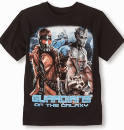 guardians of the galaxy movie shirt