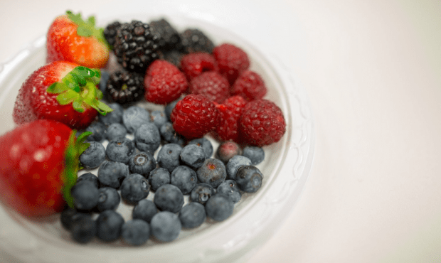 berries on a plate are good for your health