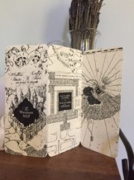 My completed Trifold card- invitations