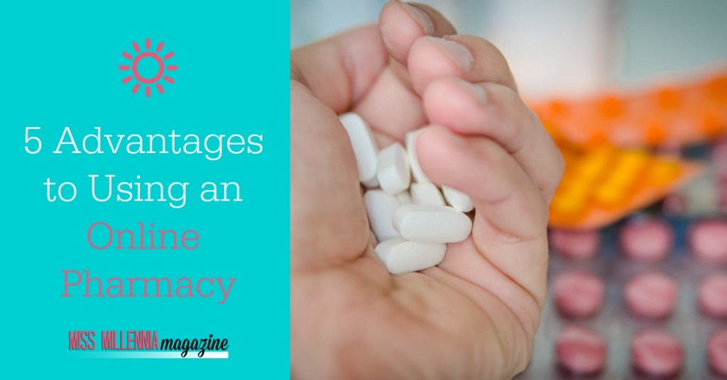 5 Advantages to Using an Online Pharmacy fb