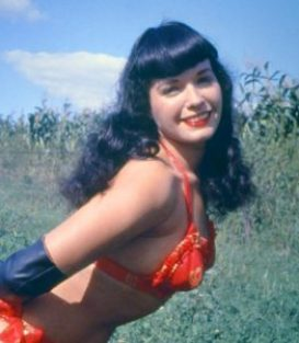 Bettie Page bdsm dominatrix star