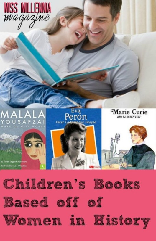 Children's Books Based off of Women in History Collage