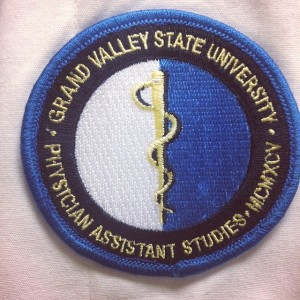 Physician assistant career badge