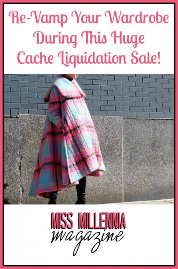Re-Vamp Your Wardrobe During This Huge Cache Liquidation Sale!