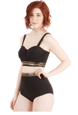 bathing suit from modcloth