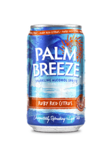 Palm Breeze Ruby drink can