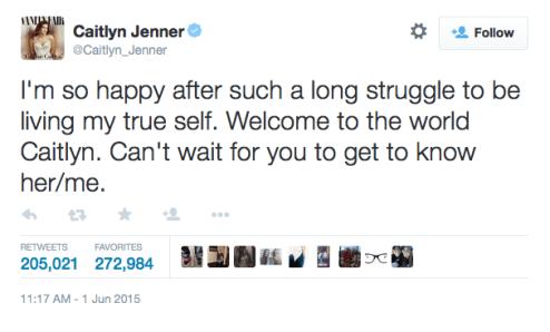 Caitlyn Jenner's Twitter